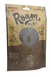 Roam Treats Beef Liver 125g
