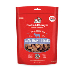 Stella & Chewy's Single Ingredient Freeze Dried Dog Treats - Lamb Heart