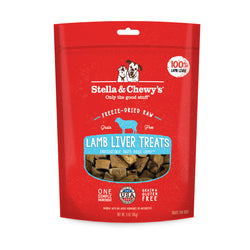Stella & Chewy's Single Ingredient Freeze Dried Dog Treats - Lamb Liver