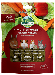 Oxbow Simple Rewards Veggie Treat 20oz