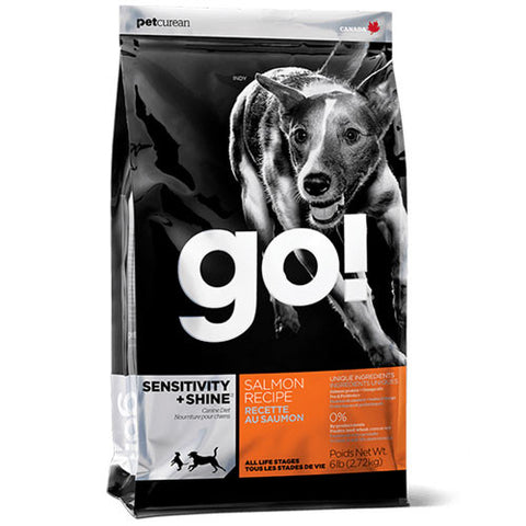 Petcurean Go! Limited Ingredient Diet Sensitivity + Shine Salmon Dry Dog Food - Push Pets Singapore