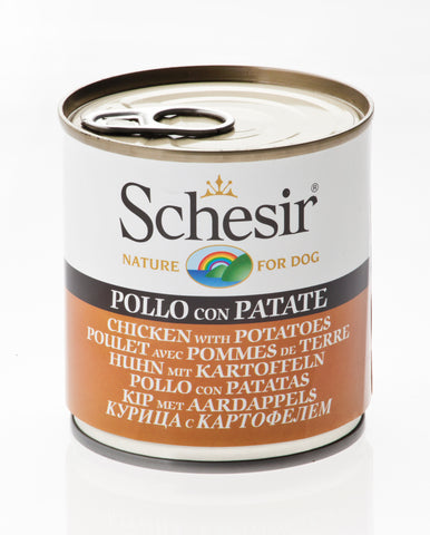 Schesir Chicken with Potatoes Canned Dog Food