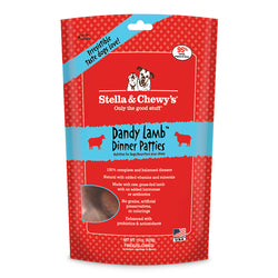 Stella & Chewy's Dog Freeze Dried Dinner Patties - Dandy Lamb