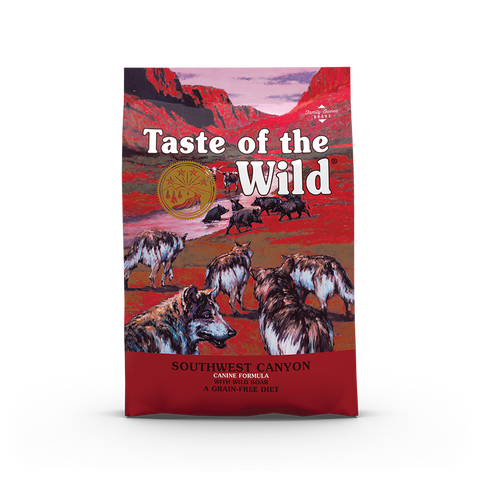 50% OFF + FREE TREAT Taste of the Wild Southwest Canyon Grain-Free Dry Dog Food