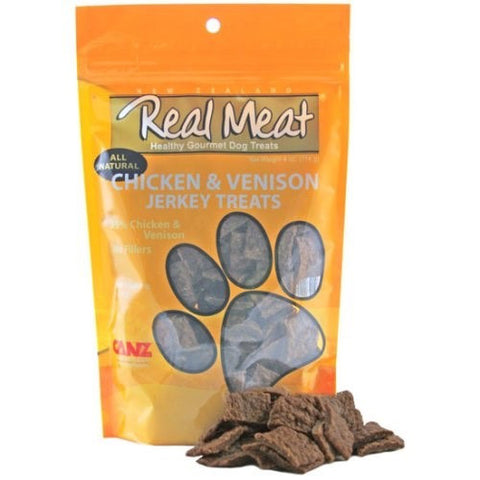 The Real Meat Company Free Range Chicken & Venison Real Meat Dog Treats - Push Pets Singapore