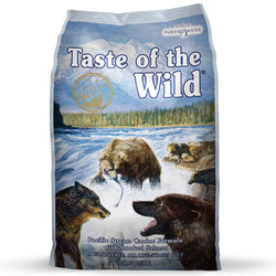 Taste of the Wild Pacific Stream Smoked Salmon Dry Dog Food - Push Pets Singapore