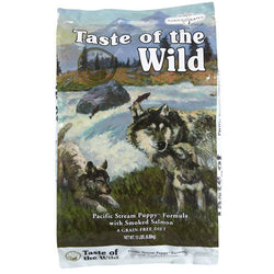 Taste of the Wild Pacific Stream Smoked Salmon Dry Puppy Food - Push Pets Singapore