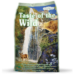 Taste of the Wild Rocky Mountain Roasted Venison Smoked Salmon Dry Cat Food - Push Pets Singapore