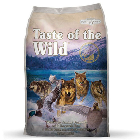 Taste of the Wild Wetlands Roasted Fowl Dry Dog Food - Push Pets Singapore