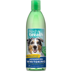 Tropiclean Fresh Breath Advanced Whitening Oral Care Water Additive