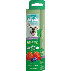 Tropiclean Fresh Breath Clean Teeth Gel Berry Fresh
