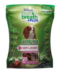 Tropiclean Fresh Breath +Plus Chews for Hip & Joint