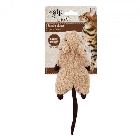 AFP Lamb Jumbo Mouse Toy