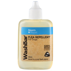 Washbar 100% Natural Flea Repellent For Dogs 40ml