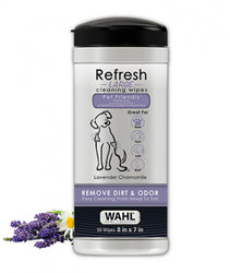 Wahl Refresh Cleaning Wipes Lavender Chamomile