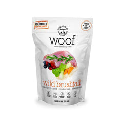 WOOF Freeze Dried Raw Wild Brushtail Dog Treat 50g