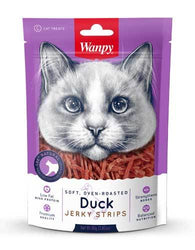 Wanpy Cat Soft & Oven-Roasted Duck Strips 80g