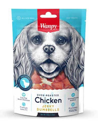 Wanpy Dog Oven-Roasted Chicken Dumbbells 100g