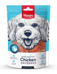 Wanpy Dog Oven-Roasted Chicken Sausages 100g