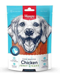 Wanpy Dog Oven-Roasted Chicken Steaks 100g