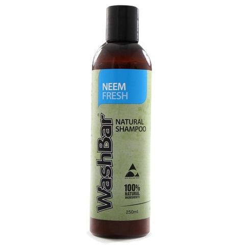 WashBar Neem Fresh 100% Natural Shampoo - Push Pets Singapore