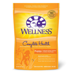 20% OFF + FREE GIFT Wellness Complete Health Dry Puppy Food - Push Pets Singapore