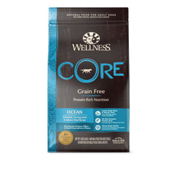 20% OFF + FREE GIFT Wellness CORE Grain Free Ocean Dry Dog Food - Push Pets Singapore