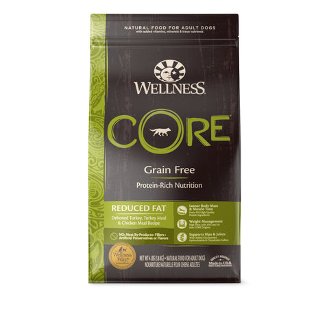 Wellness CORE Grain Free Reduced Fat Dry Dog Food