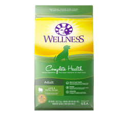 Wellness Complete Health Adult Lamb & Barley Dry Dog Food