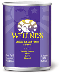 Wellness Complete Health Chicken & Sweet Potato Canned Dog Food