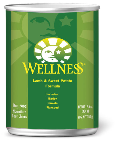 Wellness Complete Health Lamb & Sweet Potato Canned Dog Food - Push Pets Singapore