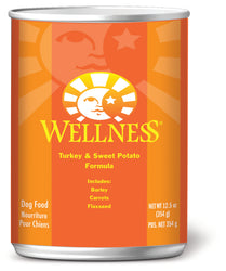 Wellness Complete Health Turkey & Sweet Potato Canned Dog Food