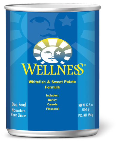 Wellness Complete Health Whitefish & Sweet Potato Canned Dog Food