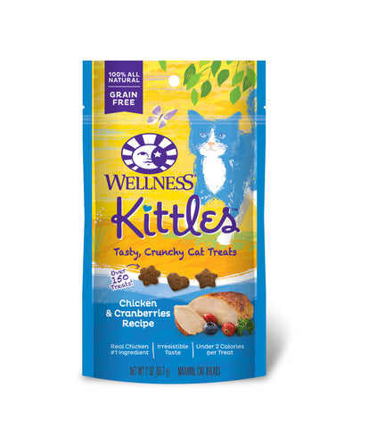Wellness Kittles Treats in Chicken & Cranberries - Push Pets Singapore
