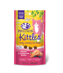 Wellness Kittles Treats in Salmon & Cranberries