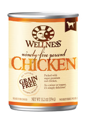 Wellness Mixers & Toppers 95% Chicken Canned Dog Food
