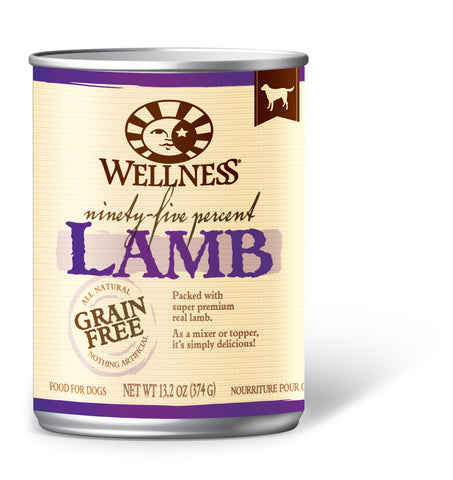 Wellness Mixers & Toppers 95% Lamb Canned Dog Food