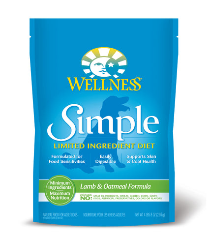 Wellness Simple Lamb & Oatmeal Dry Dog Food