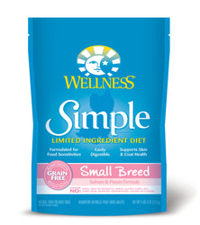 Wellness Simple Small Breed Salmon & Potato Dry Dog Food - Push Pets Singapore