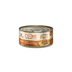 Wellness CORE Grain Free Chicken, Turkey & Chicken Liver Canned Cat Food