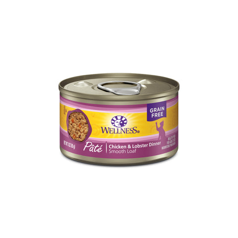Wellness Complete Health Chicken & Lobster Canned Cat Food