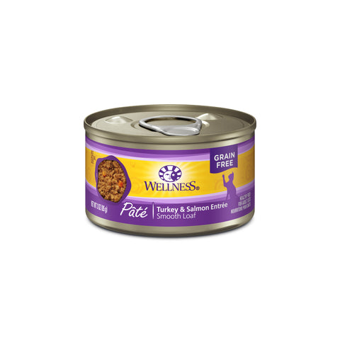 Wellness Complete Health Grain Free Turkey & Salmon Canned Cat Food