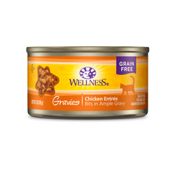 Wellness Complete Health Gravies Chicken Entrée Cat Food 3oz