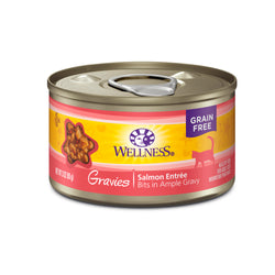 Wellness Complete Health Gravies Salmon Entrée Cat Food 3oz