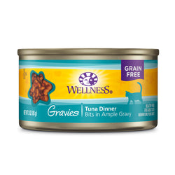 Wellness Complete Health Gravies Tuna Dinner Cat Food 3oz