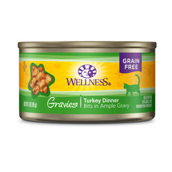 Wellness Complete Health Gravies Turkey Dinner Cat Food 3oz