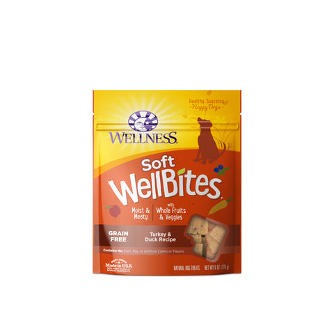 Wellness Soft Wellbites Turkey & Duck Dog Treats