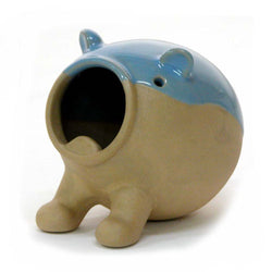 Wild Ceramic Hamster Bath House
