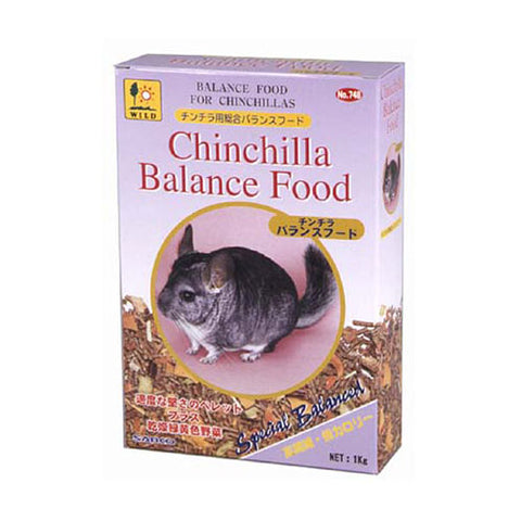 Wild Chinchilla Balance Food 1kg