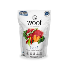 WOOF Freeze Dried Raw Beef Dog Food